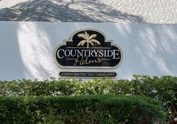 countryside palms Sub Sign