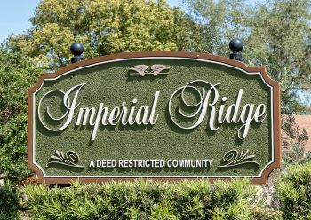 Imperial Ridge Sub Sign