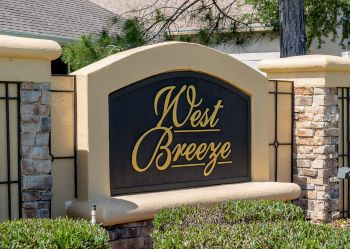 west breeze Sub Sign
