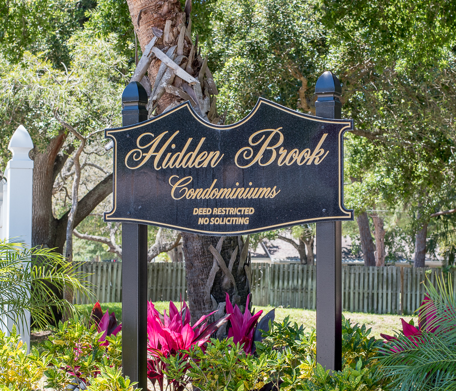 Hidden Brook Sub Sign