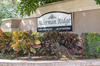 alderman ridge sign