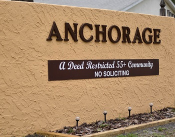 the anchorage sign