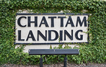 chattam landing sign