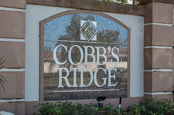 cobbs ridge sign
