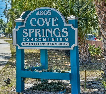 Cove Springs Sign