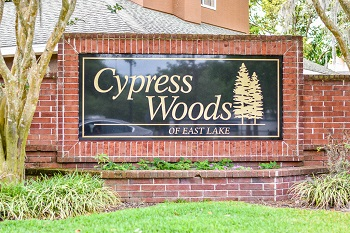 cypress woods sign