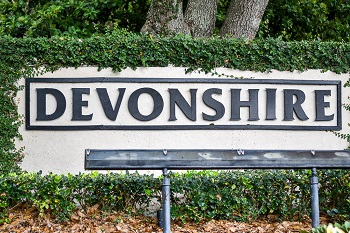 devonshire sign