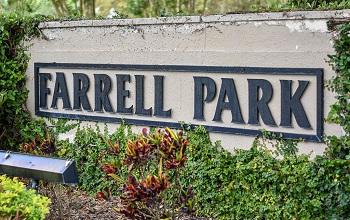 farrell park sign