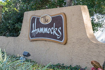 the hammocks sign