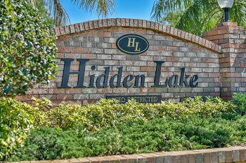 Hidden Lake Sign