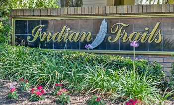 Indian Trails Sign