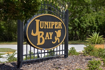 juniper bay sign