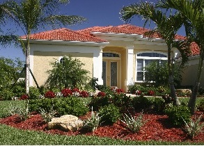 modest palm harbor home