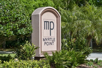 Myrtle Point Sign