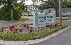 normandy park sign