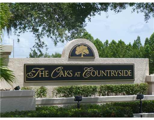Oaks at Countryside sign