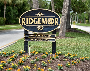 ridgemoor sign