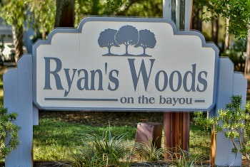 Ryans Woods sign