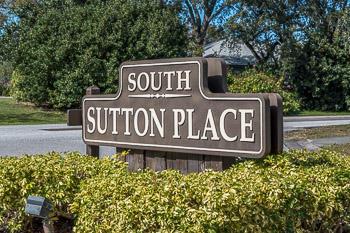 sutton place sign