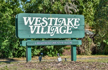 Westlake Village sign