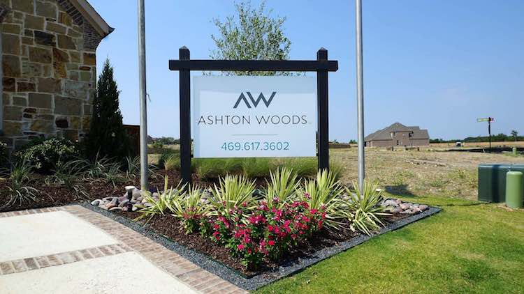 Ashton Woods Model Home In Trinity Falls