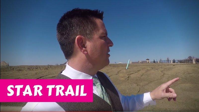 Building a Britton home in Star Trail Prosper Digging Maybe