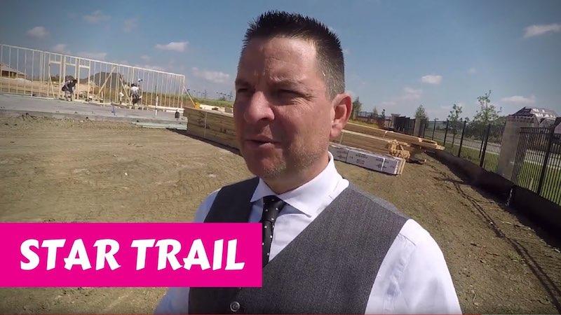 Building a Britton home in Star Trail Prosper Framing