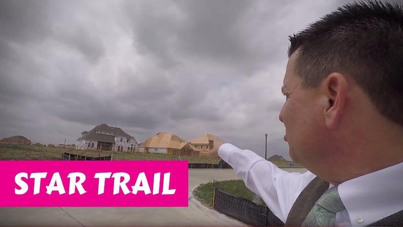 Building a Britton home in Star Trail Prosper Permits are in