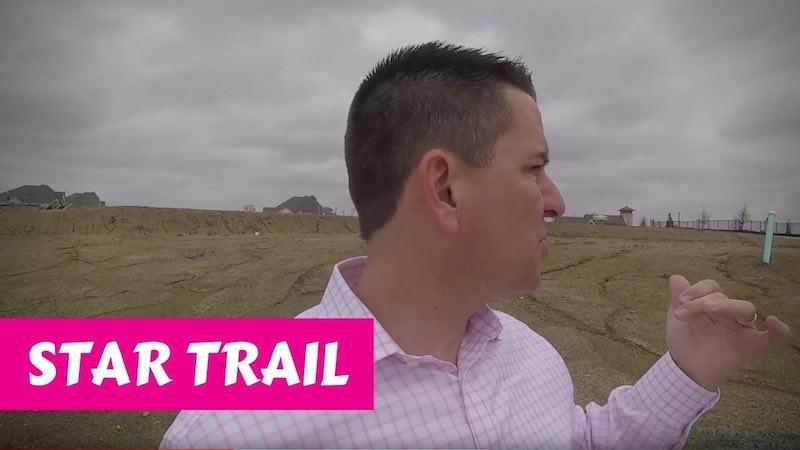 Building a Britton home in Star Trail Prosper Wind and Dirt
