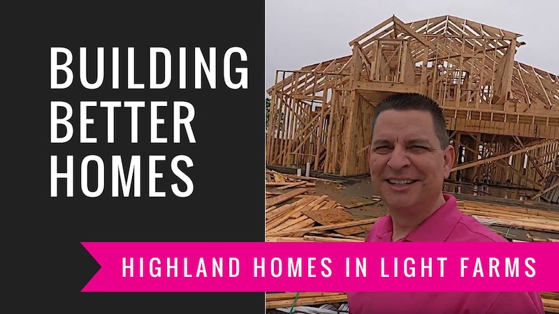 Building A Highland Home in Light Farms | Framing Delay
