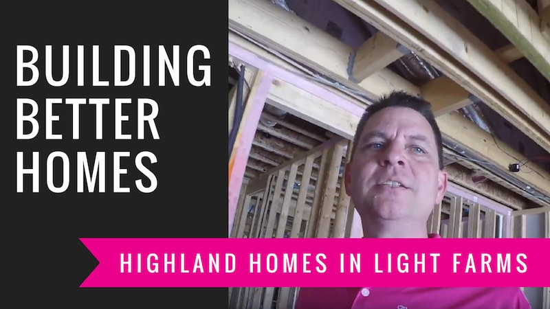 Building A Highland Home in Light Farms | Mechanical