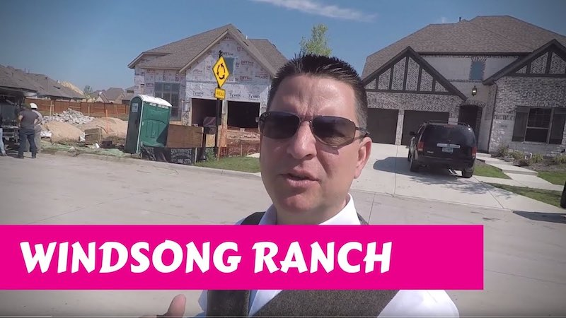 Building a Darling home at Windsong Ranch in Prosper Tx Bricks and Stone