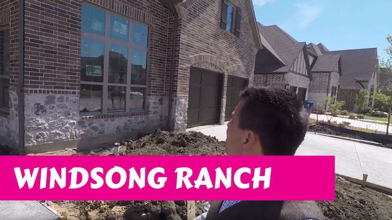 Building a Darling home at Windsong Ranch in Prosper Tx Cabinets