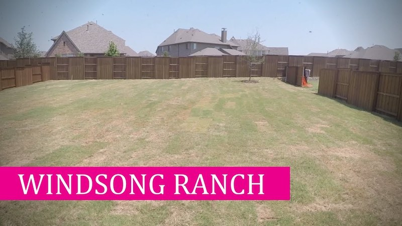 Building a Darling home at Windsong Ranch in Prosper Tx Final Details