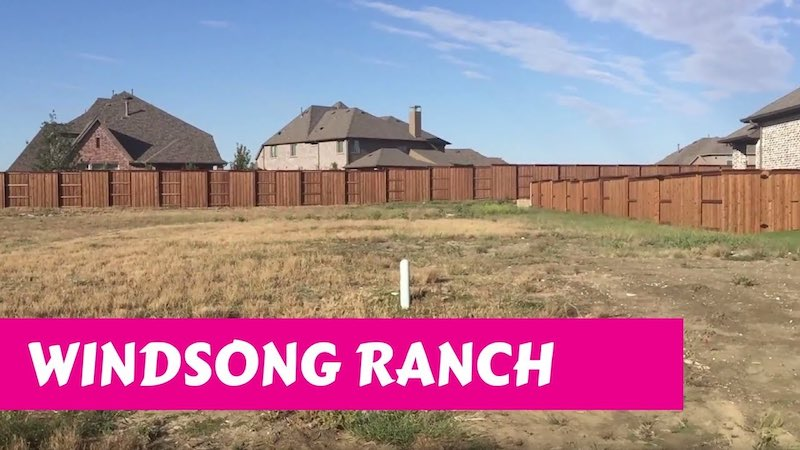 Building a Darling home at Windsong Ranch in Prosper Tx Initial Video
