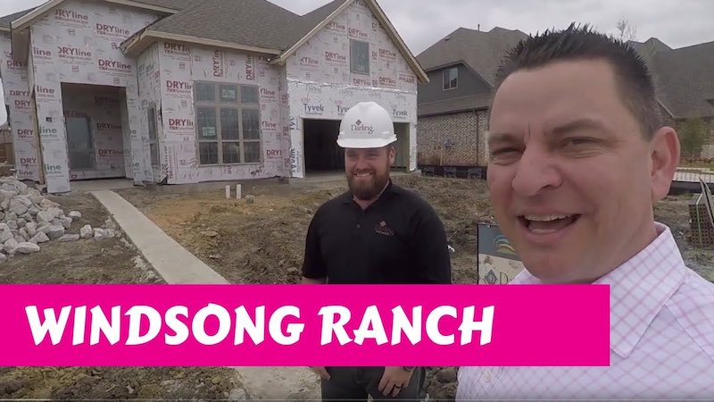 Building a Darling home at Windsong Ranch in Prosper Tx Inspections