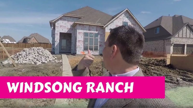 Building a Darling home at Windsong Ranch in Prosper Tx Pre-Drywall Again