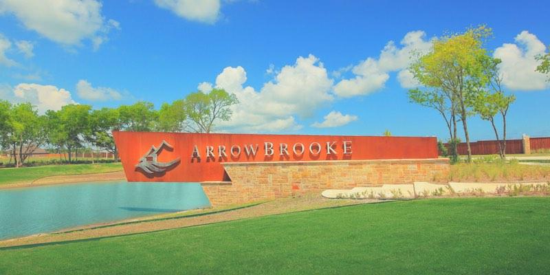 Arrowbrooke in Aubrey Tx Entrance
