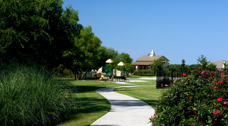 The amenity center at heritage in celina tx