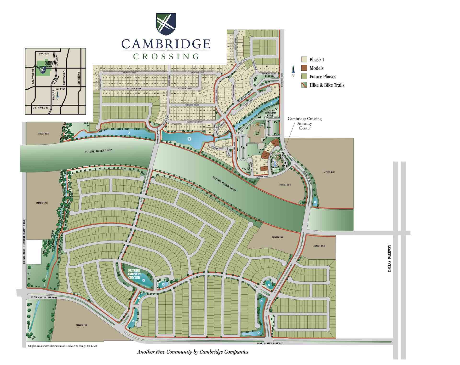 Cambridge Crossing Home Building Sites