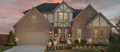 Britton Homes Model in Light Farms