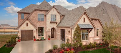 Drees Homes Model in Light Farms