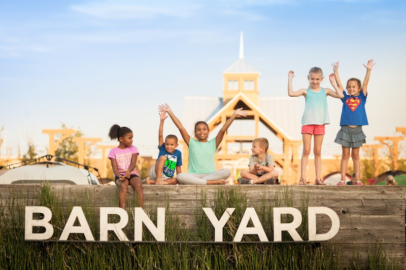 The kids of light farms in Celina tx