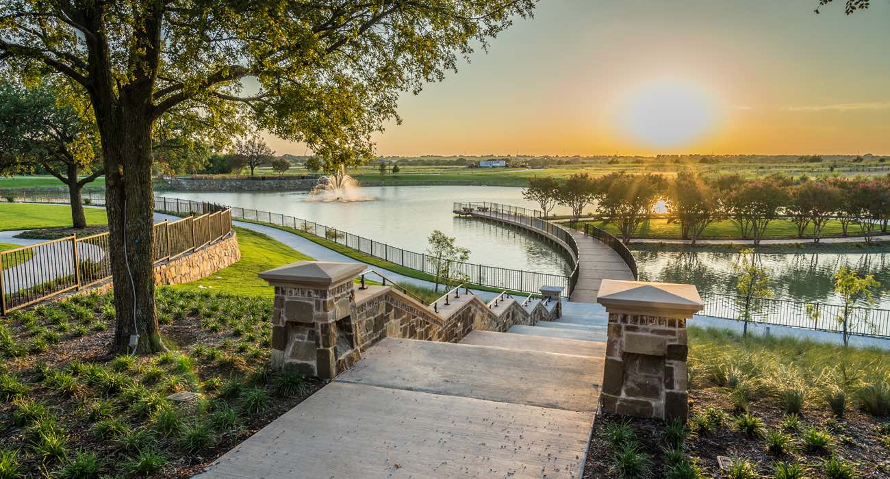 mustang lakes amenity center in celina tx