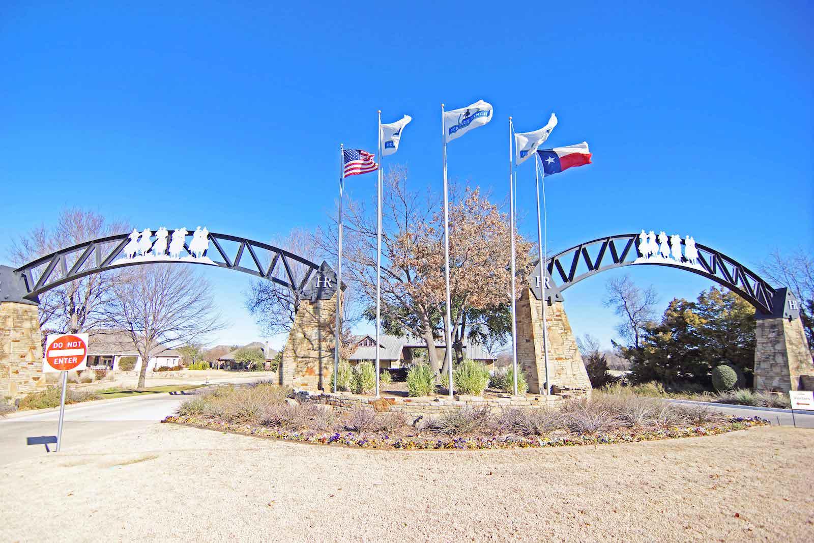 Heritage Ranch Entrance