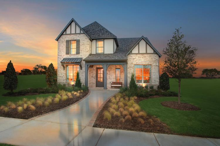 Drees Homes Model in The Grove of Frisco