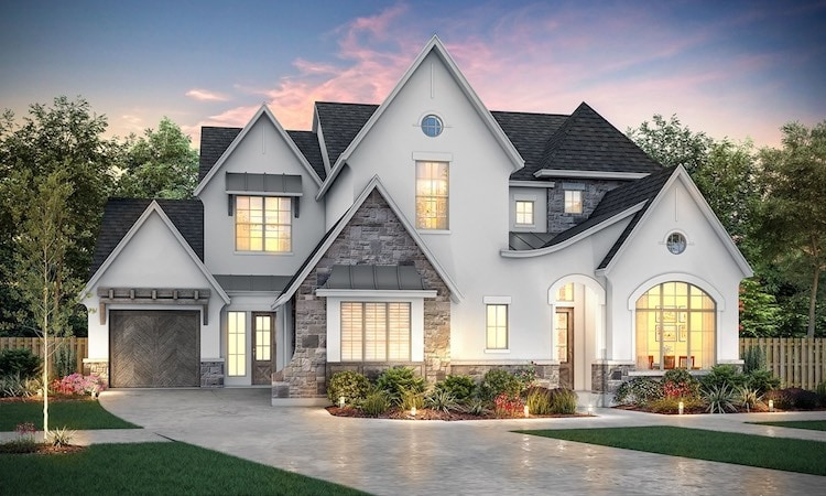 Southgate Homes Model in The Grove of Frisco