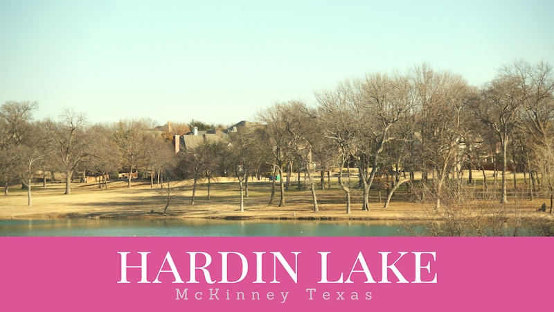Hardin Lake in McKinney Texas