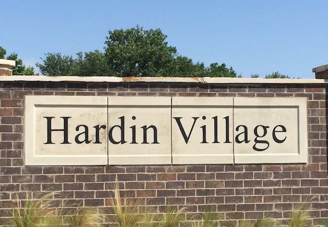 Hardin Village McKinney Texas