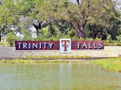 Trinity Falls in McKinney Texas